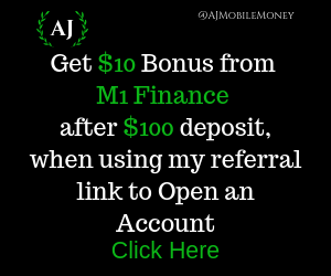 M1 Finance Affiliate Referral Bonus. Open an M1 Finance Brokerage Account, get $10 after initial deposit of $100. M1 Finance Review. M1 Invest. M1 IRA. M1 Roth IRA. M1 Trading Account. M1 Investment Account. M1 Spend. M1 Borrow.