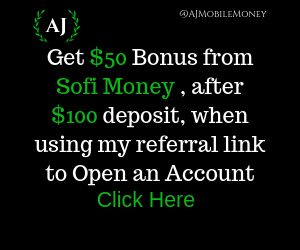 Open a SoFi Money Checking Savings Account and get a $50 Bonus after an initial $100 deposit. Deposit must be received within 14 Business Days.